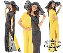 Пляжное женское платье на лето № 1597