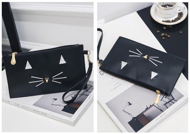 сумочка с мордочкой кота в подарок