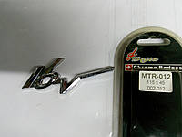Эмблема 16 V  115х45 мм