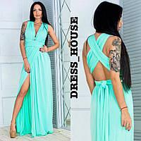 Платье-трансформер в пол в разных расцветках 5031509