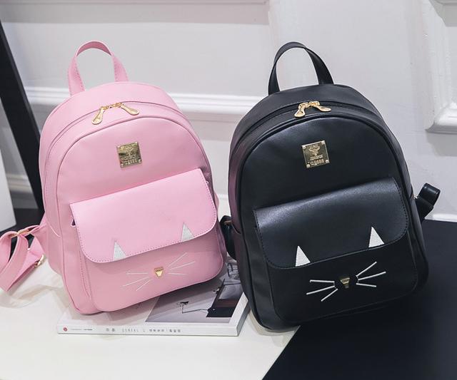рюкзак с мордочкой кота