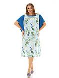 Платье свободного силуэта больших размеров отшив под заказ , фото 2