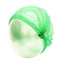 Одноразовая шапочка зеленая, 100 шт