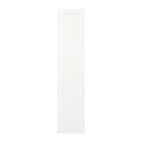 Дверца с петлями IKEA SANNIDAL 40x180 см белая 892.430.19