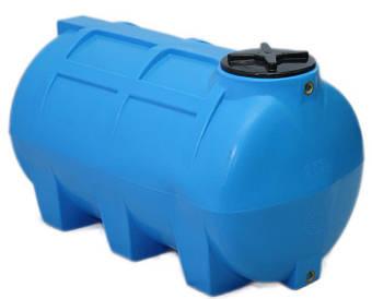 Пластиковая емкость горизонтальная - G 1000 л.