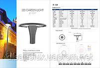 """СВЕТОДИОДНЫЙ СВЕТИЛЬНИК УЛИЧНЫЙ LED """"JD-1057"""" 60 W  IP66, фото 2"""