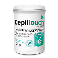 Сахарная паста для депиляции мягкая Depiltouch Professional 800g