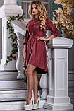 Эффектное Платье асимметричного кроя 44-50р, фото 2