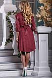 Эффектное Платье асимметричного кроя 44-50р, фото 4