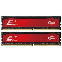 Модуль памяти DDR4 2x8GB/2400 Team Elite Plus Red (TPRD416G2400HC16DC01)