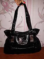 Стильная черная сумка, фото 1