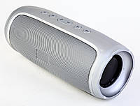 Bluetooth портативная колонка Charge 4, серебристая