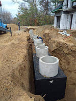 Монтаж ливневой канализации дома