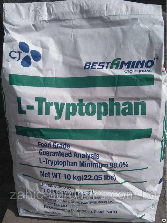 Триптофан 98% CJ фасовка 10 кг
