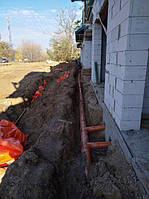 Монтаж ливневой канализации дачи