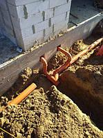 Монтаж ливневой канализации участка