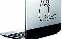Вінілова наклейка на ноутбук - Коте