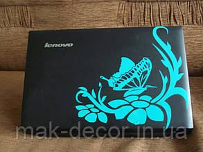 Вінілова наклейка на ноутбук - Метелик