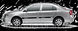 Виниловый молдинг на авто - Chevrolet Aveo (ширина 6, 9, 12 см)