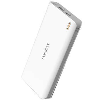 ✸Внешний аккумулятор Romoss Sense 6 20000 mAh White универсальный аккумулятор для зарядки смартфона 2 USB