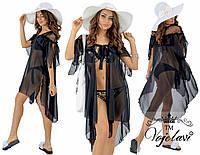 Пляжное женское тонкое платье парео № 595