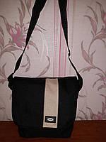 Черная мужская тканевая сумка Zack, фото 1