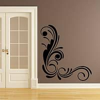 Виниловая интерьерная наклейка -Интерьерный узор на стене 3  (цена за размер 64х60 см)