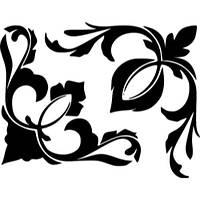 Виниловая наклейка - Узор 10
