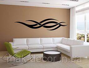 Вінілова інтер'єрна наклейка - Візерунок на стіну (ціна за розмір 60х265 см)