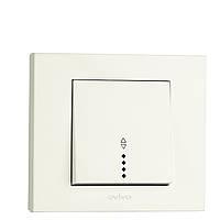 Выключатель 1 кл. проходной с подсветкой Ovivo Grano