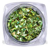 Декор Чешуя дракона Зеленая