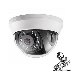 Видеокамера внутренняя Turbo HD 2 Мп мультиформатная DS-2CE56D0T-IRMMF (2.8мм)