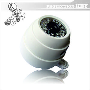 Видеокамера уличная купольная AHD Able PK-71С 3,6мм