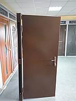 Металлическая дверь гнутый профиль