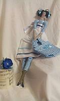 Кукла Тильда - морячка , кукла ручной работы