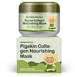 Маска з колагеном BioAqua pigskin collagen mask 100грам, фото 3