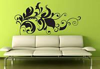 Виниловая интерьерная наклейка -Интерьерный узор на стене 4 (цена за размер 40х82 см)