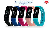 Комплект Фитнес трекер VeryFit ID116HR с 5 сменными ремешками для iPhone Android браслет для спорта