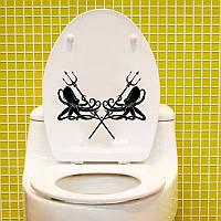 Виниловая наклейка-осьминоги