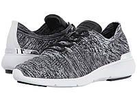 Женские стильные черно-белые текстильные кроссовки популярного бренда Michael Kors, фото 1