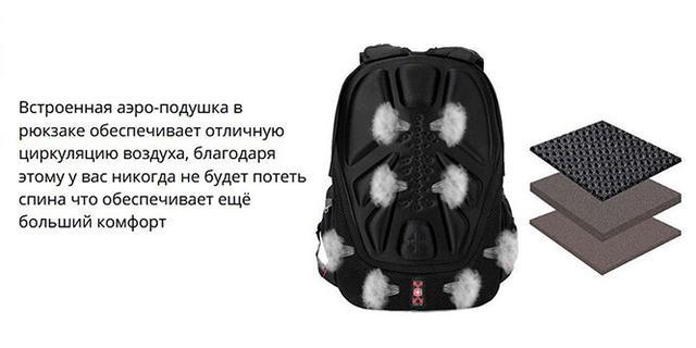 Городской рюкзак SwissGeer 7215 - с системой вентиляции