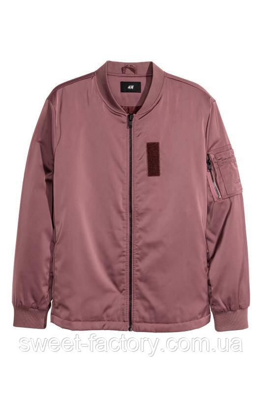 В наличии Продам новые бомберы курткы h&m оригинал 100%. приве