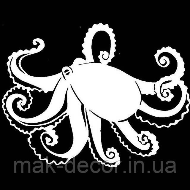 Виниловая наклейка -осьминог