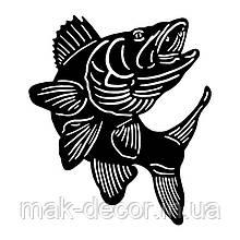 Виниловая наклейка - рыба 9