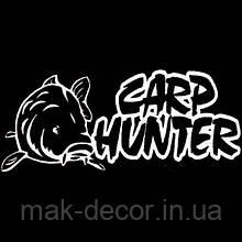 Виниловая наклейка - card hunter