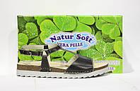 Шикарные кожаные босоножки Natur Soft, Италия-Оригинал, фото 1