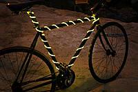 Подсветка для велосипеда— Ярким неоновым проводом 2,6мм.