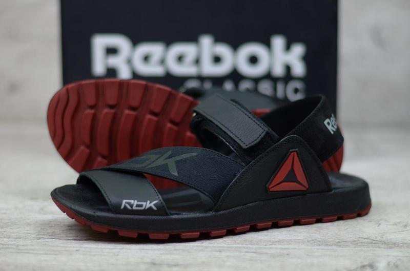 1569c9c669c6a4 Мужские сандалии Reebok кожаные босоножки ТОП качество, сандалі чоловічі  якісні недорого. - Интернет-