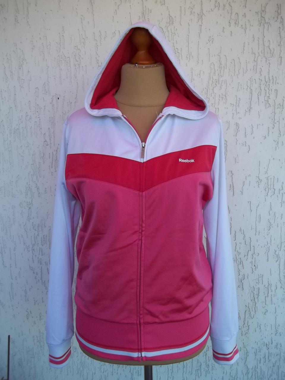 12f5696a Спорт свитер мастерка олимпийка женская REEBOK (46/48р) Германия Оригинал -  Товары из
