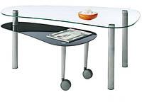 """Кофейный (журнальный) столик """"J-8704"""" с двумя стеклянными столешницами"""